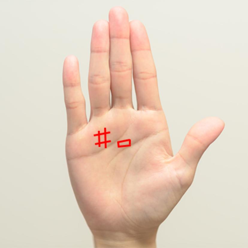 【手相占い】四角紋(スクエア&シャープ)の場所毎の意味